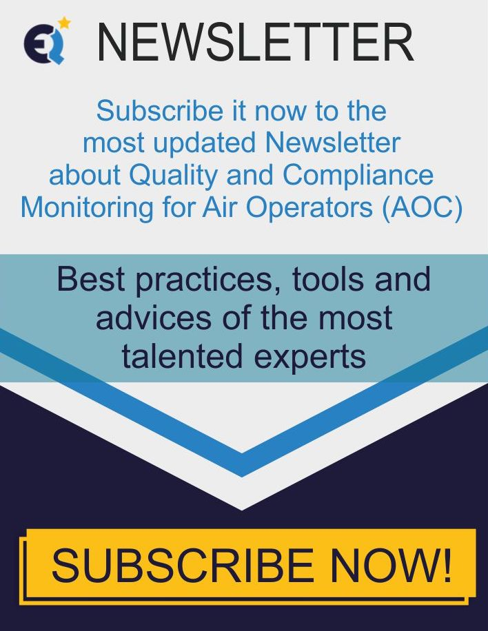 Newsletter of Quality and Compliance Monitoring for Air Operators