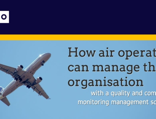 How air operators can manage their organisation with a quality and compliance monitoring management software