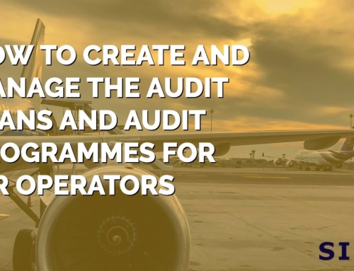 How to create and manage the audit plans and audit programmes for air operators