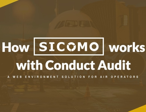 Web environment solution for air operators: How SICOMO works with Conduct Audit