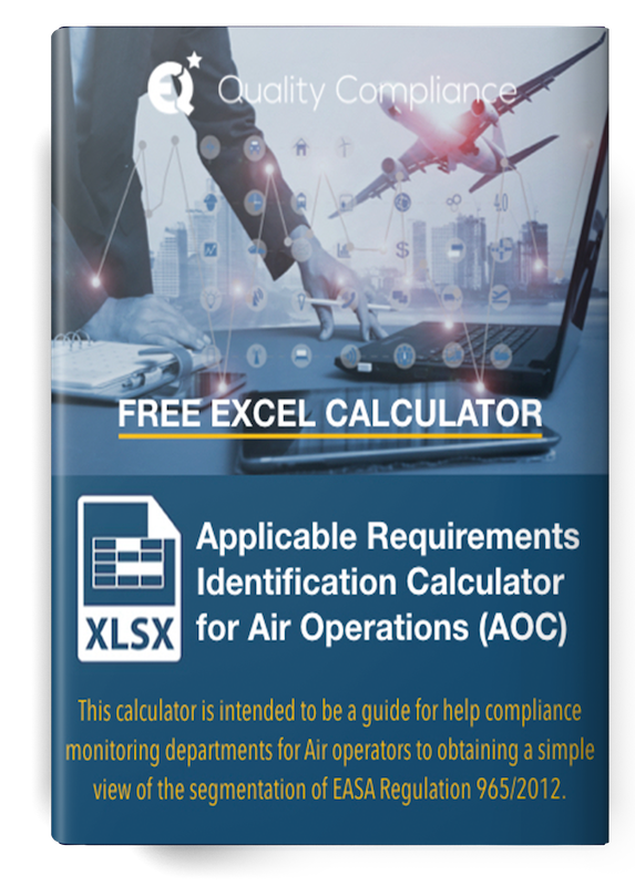 Applicable Requirements Identification Calculator for Air Operations AOC