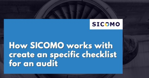 How SICOMO works with create an specific checklist for an audit